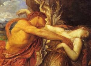 Orfeo y Eurídice por George Frederick Watts