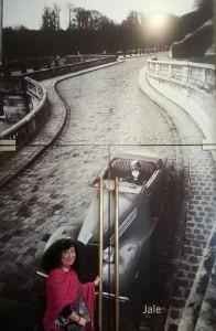A punto de entrar al mundo Doisneau. Foto de Soledad Aranda